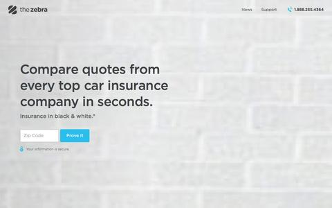Compare Car Insurance Rates: Fast, Free, Simple | The Zebra