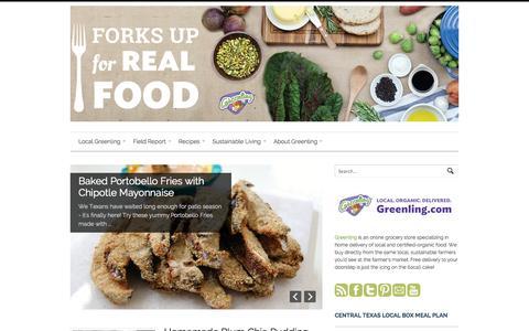 Screenshot of Blog greenling.com - Greenling Blog   - captured Sept. 16, 2014