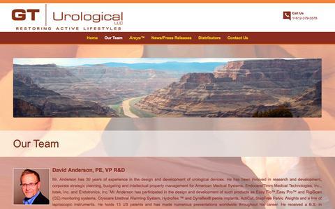 Screenshot of Team Page gturological.com - Meet Our Team | GT Urological | Minneapolis, MN - captured Feb. 21, 2016