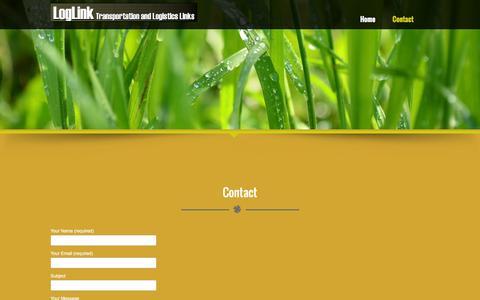 Screenshot of Contact Page loglink.co.uk - Contact – LogLink - captured Feb. 11, 2016