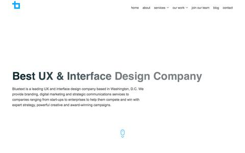 Best UX & Interface Design Company | Bluetext