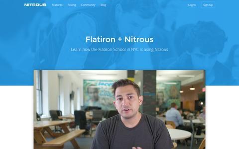 Flatiron · Nitrous
