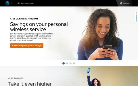 AT&T Wireless Discount Through Your Employer