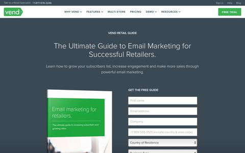 Retail Email Marketing Best Practices | Vend