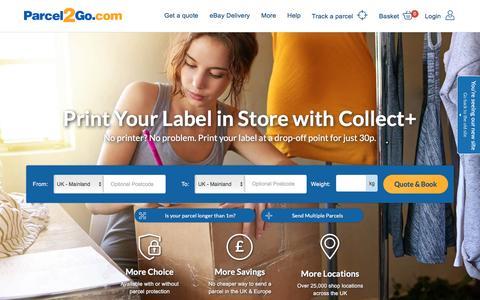 Courier Services & Cheap Delivery   Send a Parcel   Parcel2Go
