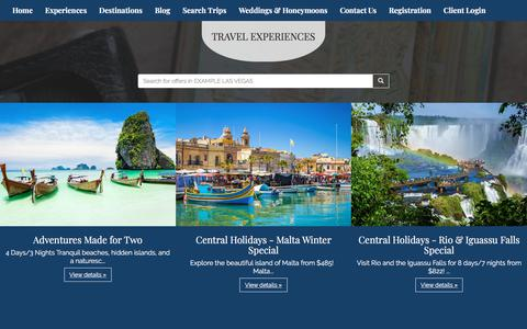 Screenshot of Products Page connectiontocruise.com - Our Products | Connection To Cruise - captured July 21, 2018