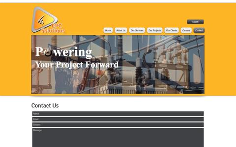 Screenshot of Contact Page epcsolutions.com.au - epc solutions, electrical contractors, project management, electrical project managers, | Contact - captured Oct. 10, 2016