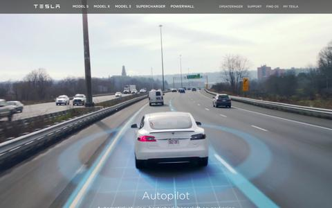 Screenshot of teslamotors.com - Tesla Motors Danmark | Luksus Elektriske Elbiler - captured April 7, 2016