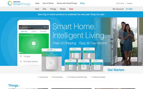 Official SmartThings Shop - Buy Starter Kits, Hubs, Solutions, and popular smart home products