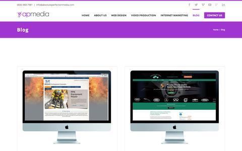 AP Media Blog | Internet Marketing - Video Production - Web Design