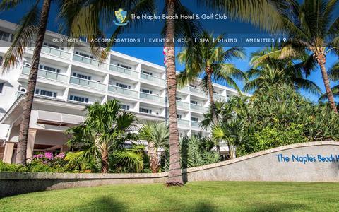 Screenshot of Jobs Page naplesbeachhotel.com - Careers | Naples Beach Hotel & Golf Club - captured Nov. 17, 2018