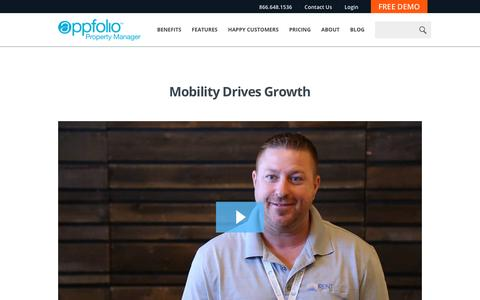 Screenshot of Case Studies Page appfolio.com - AppFolio Video Case Study for RentSource Corporation - captured May 10, 2017