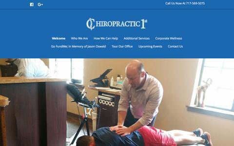 Lititz, PA Chiropractor | Chiropractic 1st | Dr. Matt Mullins and Associates