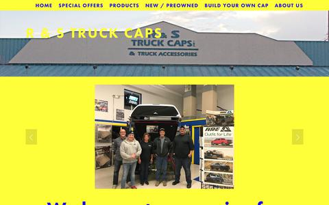 Screenshot of Team Page rstruck.com - Our Staff — R & S Truck Caps - captured July 2, 2018