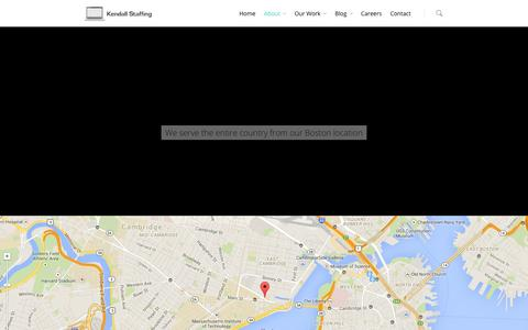 Screenshot of Locations Page kendallstaffing.com - Locations - Kendall Staffing - captured Oct. 26, 2014