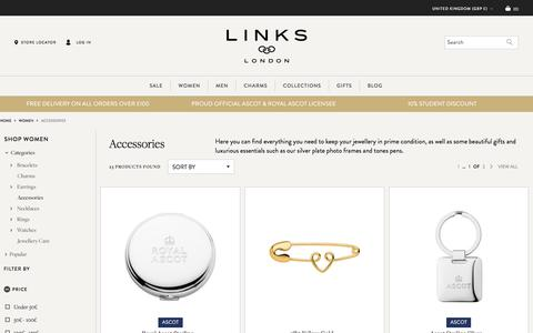 Women's Accessories | Silver & Gold Accessories | Links of London | Links of London