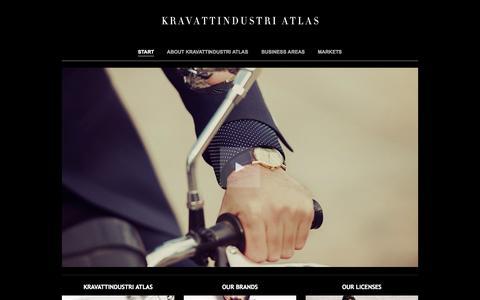 Screenshot of Home Page atlasdesign.net - Start | Atlas Design - Since 1943 - captured Oct. 4, 2014