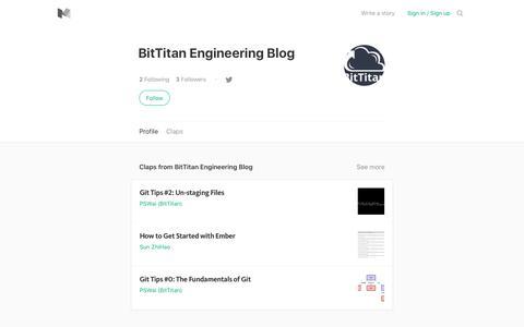 BitTitan Engineering Blog – Medium