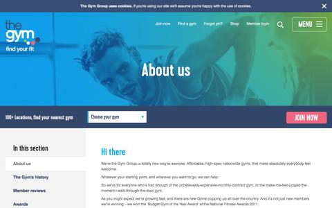 About Us |Pay As You Go | 24 Hour Gym | The Gym Group