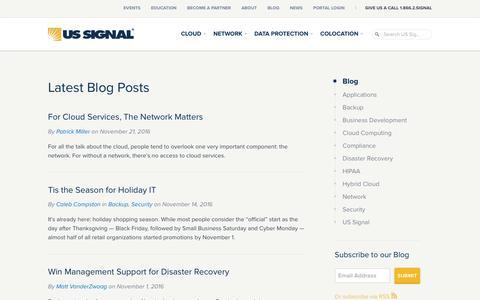 Blog | US Signal