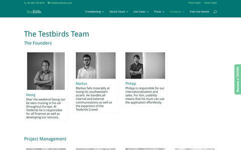 Team - Testbirds