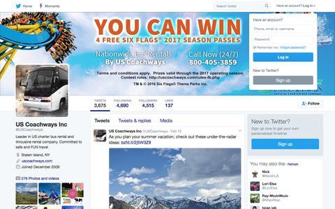 US Coachways Inc (@USCoachways)   Twitter