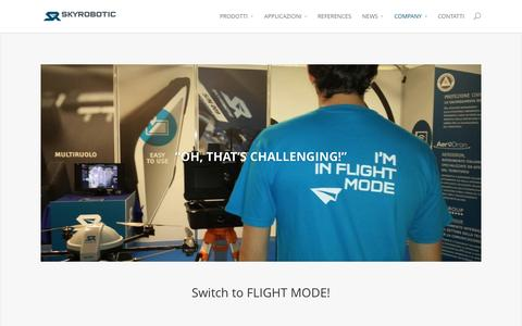 Screenshot of Jobs Page skyrobotic.com - Careers | SKYrobotic - captured Nov. 5, 2014