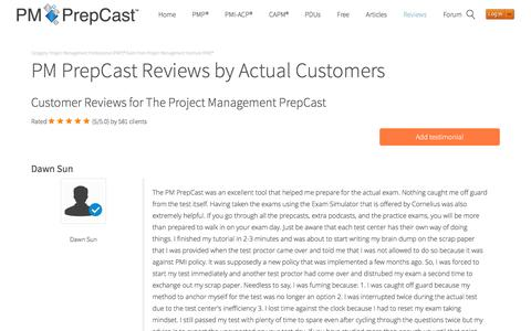 PM PrepCast Reviews 2017 : Read what REAL Customers say