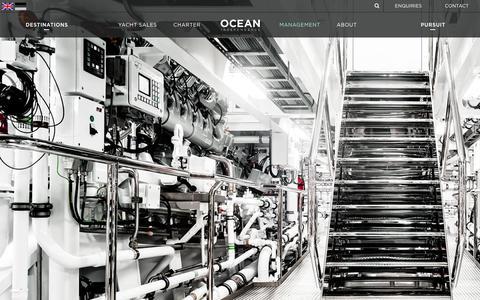 Screenshot of Team Page oceanindependence.com - Management | Ocean Independence - captured June 24, 2017