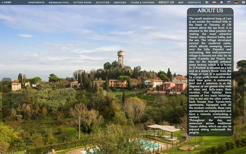 Screenshot of About Page ilfrutteto.net - ABOUT US - captured Nov. 1, 2014