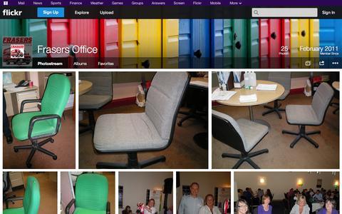 Screenshot of Flickr Page flickr.com - Flickr: Frasers Office's Photostream - captured Oct. 25, 2014
