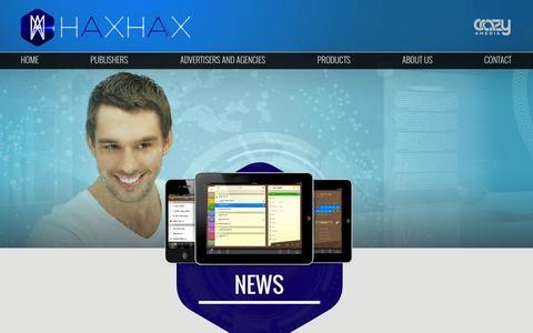 Screenshot of Press Page haxhax.com - Global Premium Marketing-News - captured Sept. 22, 2014