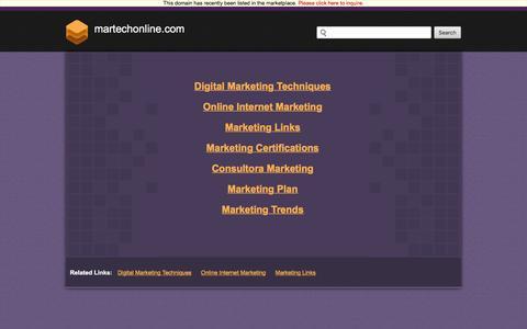 Martechonline.com