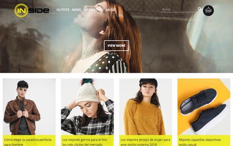 Screenshot of Blog inside-shops.com - Ropa de mujer, hombre y complementos Inside  Blog moda y tendencias - captured Dec. 12, 2018