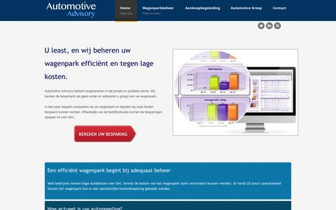 Extern Wagenparkbeheer - Fleet services | Automotive Advisory