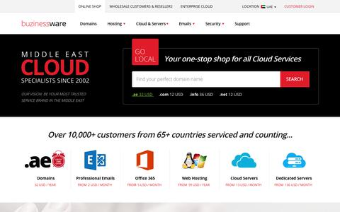Buzinessware - Best Cloud Hosting Company - Cloud Server | Dedicated Server