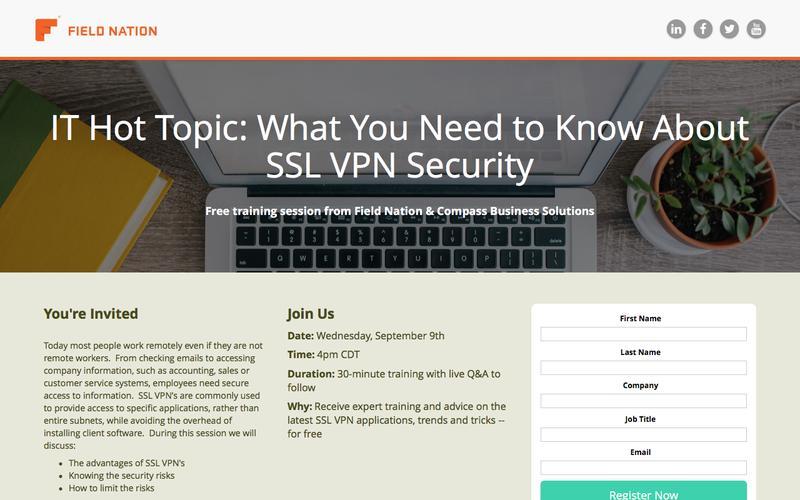 IT Hot Topic - SSL VPN Security