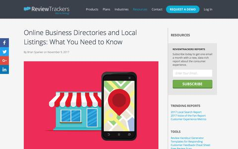 Online Business Directories and Local Listings: What You Need to Know | Education