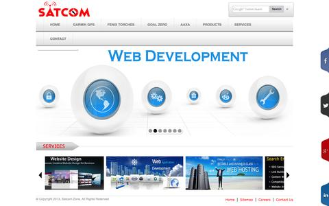 Screenshot of Services Page satcomzone.com - Web Designing, SEO Services, Web Development, CMS Development, E-Commerce Websites, Online ERP, Software Developments, Billing Softwares, Web Hosting, Logo Design Services in Coimbatore, Mysore, Ooty, Cochin, Trivandrum, Erode, Salem, Karur, Trichy,  - captured Sept. 30, 2014