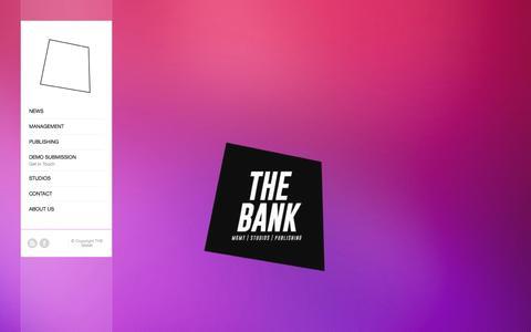 Screenshot of Team Page thebank.dk - THE BANK |   MANAGEMENT - captured Nov. 27, 2016