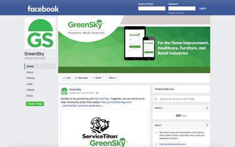 GreenSky | Facebook