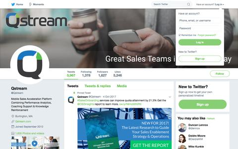 Qstream (@Qstream) | Twitter