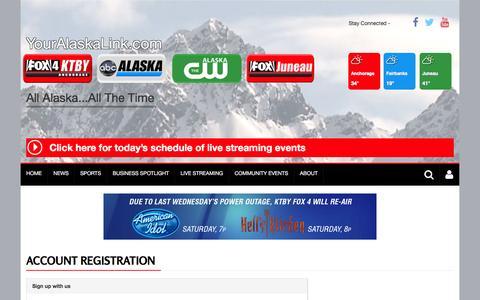 Screenshot of Signup Page bloxcms-ny1.com - User | youralaskalink.com - captured Jan. 29, 2016