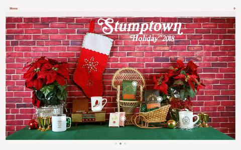 Screenshot of Home Page stumptowncoffee.com - Stumptown Coffee Roasters - Stumptown Coffee Roasters - captured Dec. 9, 2018