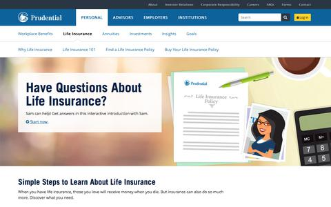 Life Insurance | Prudential Financial