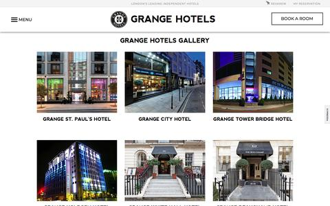 Hotel Photo & Video Gallery  | Grange Hotels