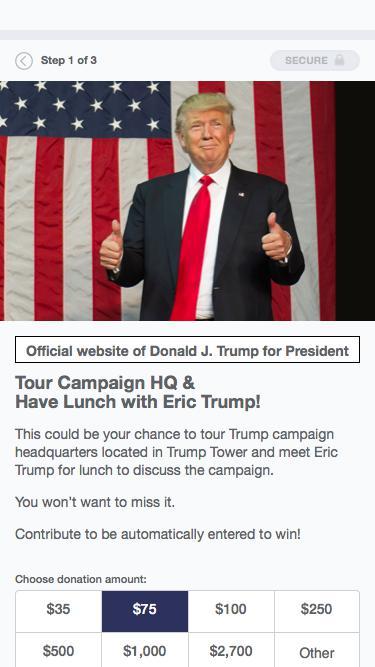 Donald J. Trump for President, Inc.