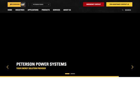 Peterson Power | Caterpillar Power Systems Dealer