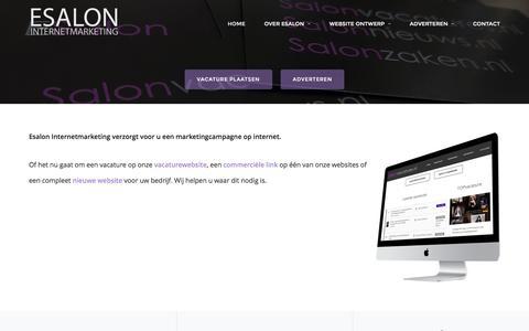 ESALON Internetmarketing – Internetmarketing – website ontwerp – vacatures