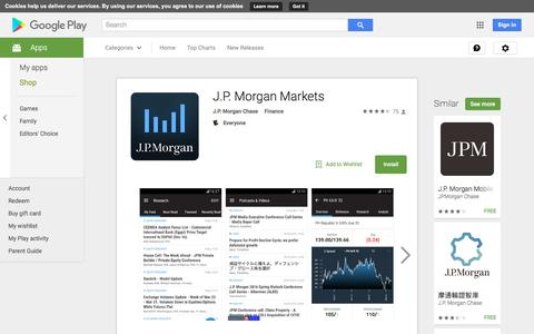 J.P. Morgan Markets - Android Apps on Google Play